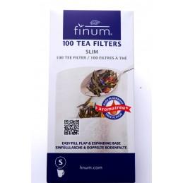 Filtry papierowe Finum - 100 szt. rozmiar S