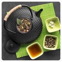 Zielone herbaty z dodatkami