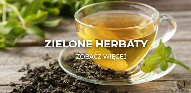 Zielone herbaty liściaste w najlepszych cenach